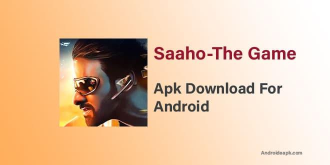 Saaho-The-Game-Apk