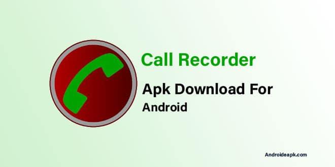 Call-Recorder-Apk
