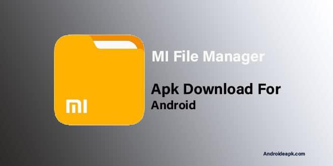 MI-File-Manager-Apk