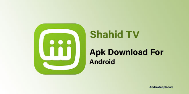 Shahid-TV-Apk