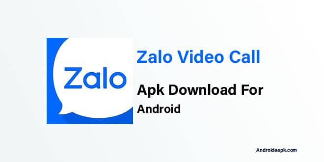 Zalo-Video-Calling-App