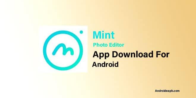 Mint-Photo-Editor-App