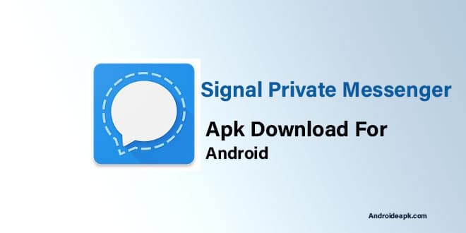 Signal-Private-Messenger-Apk