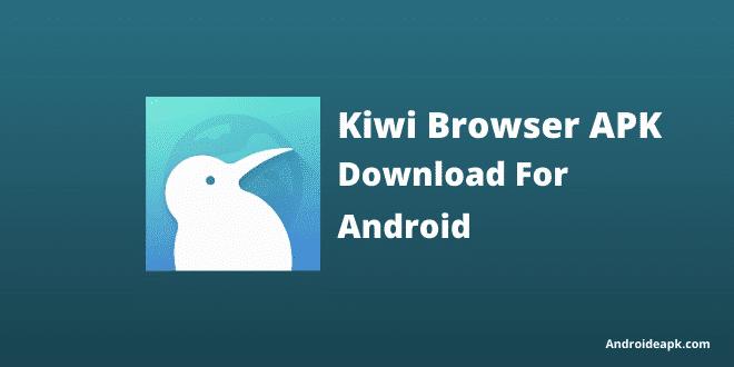 kiwi browser apk