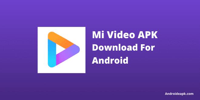 Mi Video App